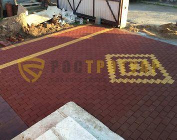 Тротуарный кирпич 200х100х80 мм