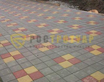 тротуарная плитка квадрат в СПБ