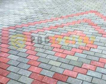 Тротуарный кирпич 200х100х80 в Гатчине