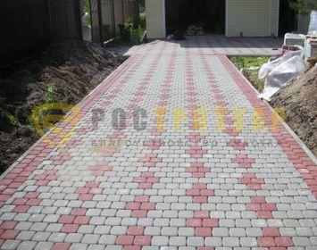 Тротуарная плитка классика в спб