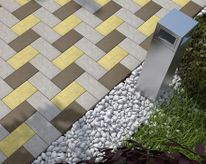 Укладка тротуарной плитки или брусчатки под ключ