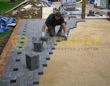 Тротуарная плитка кирпич 200*100*60 мм