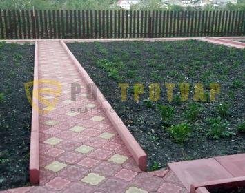 Садовой бордюр 500х200х65
